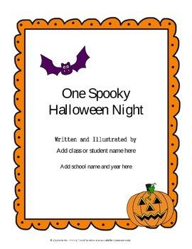 Halloween Writing Pack  {Editable}