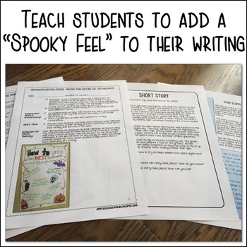 Halloween Writing Lesson Plans and Activities
