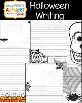Halloween Writing Lines