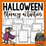 Halloween Writing & Literacy Centers