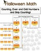 Halloween Writing and Math Activities {Print and Go Halloween Bash 2014!}