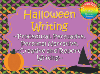 Halloween Writing Mega Pack