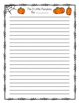 Halloween Writing: Mentor Text 3 Little Pigs