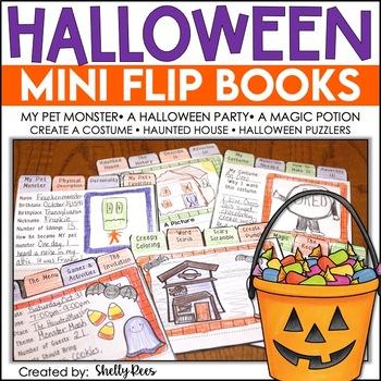 Halloween Writing Activity - Halloween Flip Books