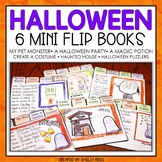Halloween Writing Activity - Halloween Flip Books