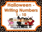 Halloween - Writing Numbers 1-10