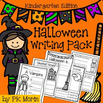 Halloween Writing Pack - Kindergarten Edition