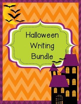 Halloween Writing Pack, (Menu, Paper, Prompts)