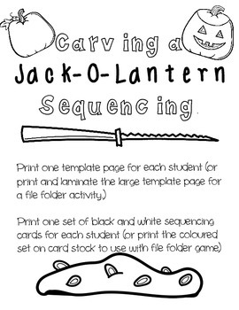 Halloween Writing Pack ((*PRINT AND GO*))