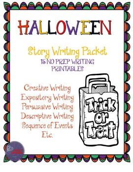 Halloween Writing Packet