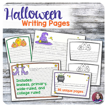 Writing Pages - Halloween Theme