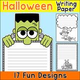 Halloween Writing Paper - Halloween Activities - Great for