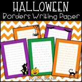 Halloween Writing Paper / Borders