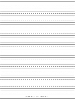 Halloween Writing Paper By Jelly Jams ~No Prep!