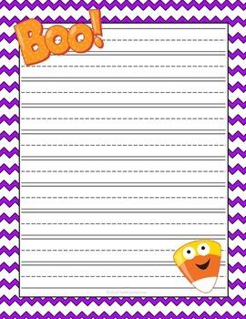 Halloween Writing Paper *FREEBIE*