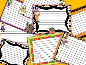 Halloween Writing Paper Pack