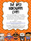 Halloween Writing Paper (The Best Halloween Ever!)