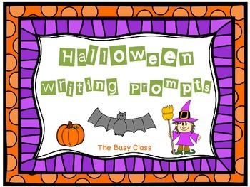 Halloween Writing Prompts (1st-3rd)