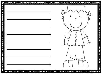 Halloween Writing Papers Sample