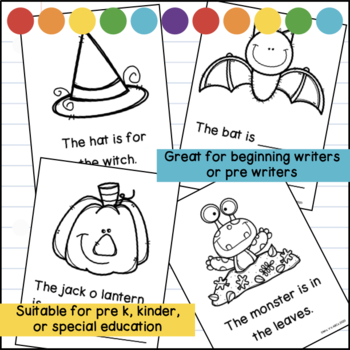 Halloween Writing Picture Prompts