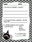 Halloween Writing Printable Worksheet