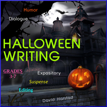 Halloween Writing: 10 Printable Prompts (Grades 3-7)