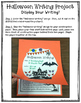 Halloween Writing Project - Perfect for Grades 4 and 5
