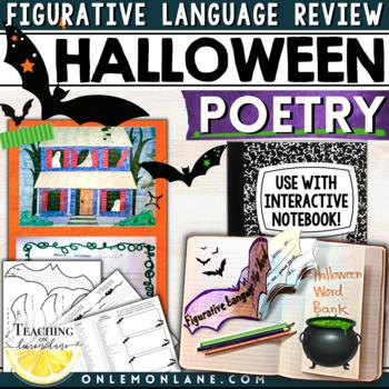 #HARVESTDEALS Halloween Writing Activity Poetry / Figurative Language