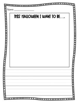 Halloween Writing Prompt