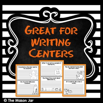 Halloween Writing Prompt Book