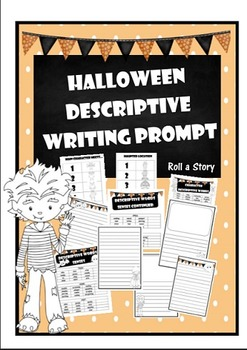 Halloween Writing Prompt- Descriptive Writing