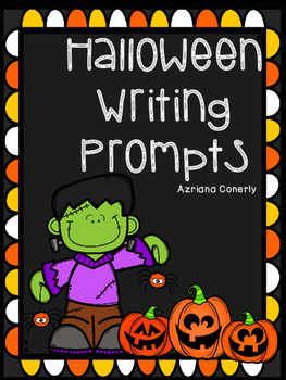Halloween Writing Prompt FREEBIE