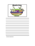 Halloween Writing Prompt Paper - Monster Soup