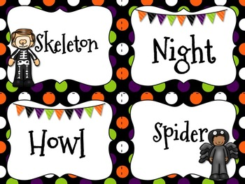 Halloween Writing Prompt ~ Task Cards {Editable}