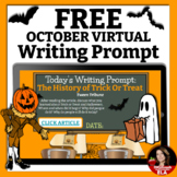 Halloween Writing Prompt with Passages and RACE Strategy