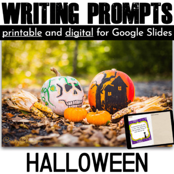 Halloween Writing Prompts {36 cards}