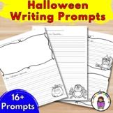 Halloween Writing Prompts for Kindergarten (Differentiated)