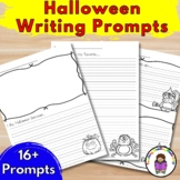Halloween Writing Prompts for Kindergarten (Differentiated)