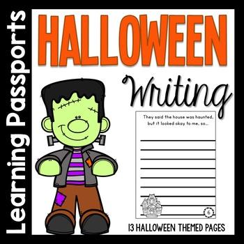 Halloween Writing Prompts