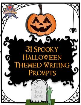Halloween Writing Prompts: 31 Slightly Spooky Short Writin