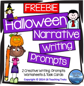 Halloween Writing Prompts FREE