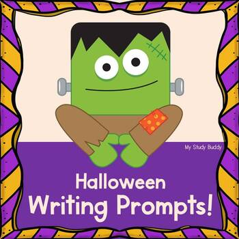 Halloween Writing Prompts / Fall Writing Prompts (First Grade, Fall Activities)