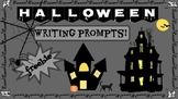 Halloween Writing Prompts! Freebie!
