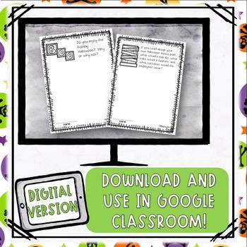Halloween // Writing Prompts: Grades 2 - 5