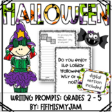 Halloween // Writing Prompts: Grades 2 - 5