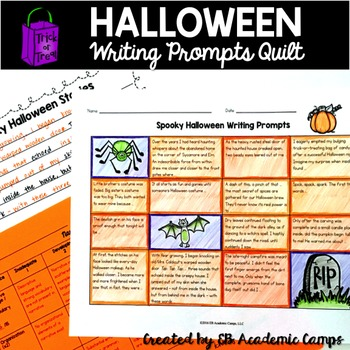 Halloween Writing Prompts Grades 5+