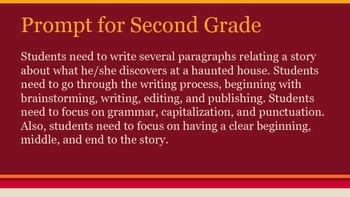 Halloween Writing Prompts K-5