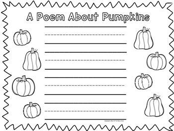 Halloween Writing Prompts (Kindergarten)
