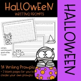 Halloween Writing Prompts {No-Prep Printables}