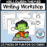 Halloween Writing Prompts: Opinion, Narrative, and Sensory Details